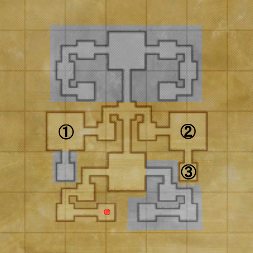 バフラウ遺構II-3層