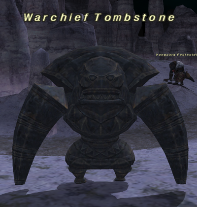 Warchief Tombstone